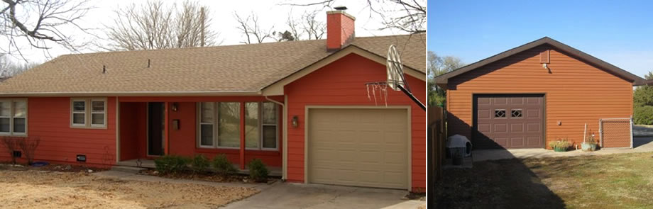 Siding, gutters, windows in Wichita, KS