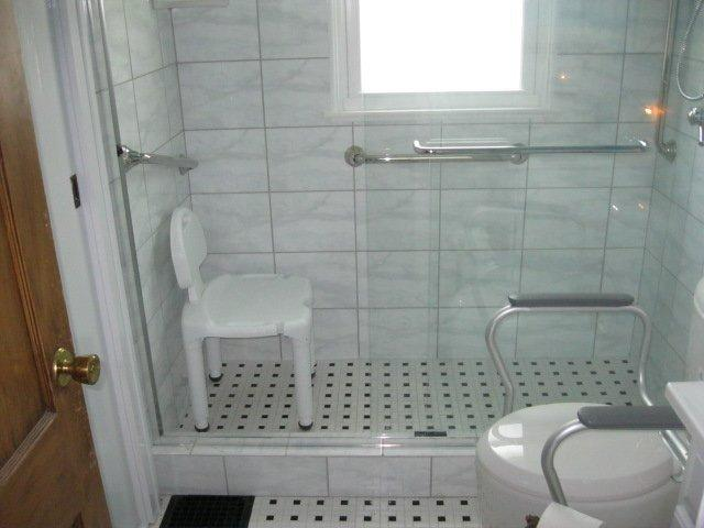custom tile approach or with a pre fabricated shower kit or a